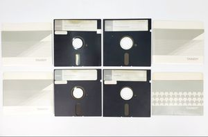 """Assorted Tandy Games & Software - 5.25"""" Floppy Disks (1984) - Tandy for Sale in Trenton, NJ"""