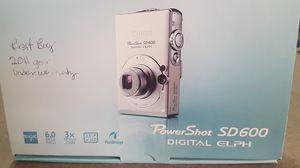 Canon PowerShot SD600 Digital Elph Camera for Sale in El Paso, TX