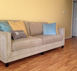Beige couch for Sale in Silver Spring,  MD