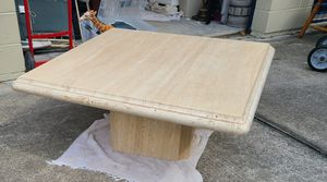 Solid Italian stone coffee table for Sale in Rockledge, FL