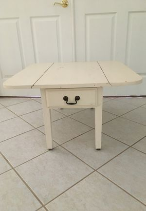 """Antique folding end table 17"""" tall by 30"""" wide $150 for Sale in Tampa, FL"""