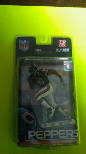 Chicago bears Julius peppers collectable figure. nOS for Sale in Chicago, IL