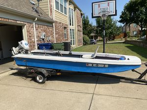 Bass tender (boat) 14ft NEED GONE for Sale in Garland, TX