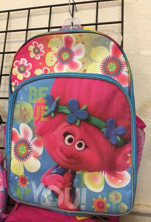 Trolls backpack for Sale in Boca Raton, FL