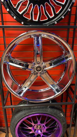 """New 24"""" chrome rims for Sale in Orlando, FL"""