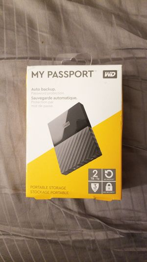 Brand new 2tb My Passport external hard drive for Sale in Baton Rouge, LA