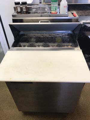 Refrigerator sandwich station for Sale in St. Louis, MO