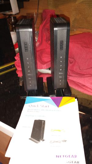 Netgear N600 Wifi Cable Modem Router for Sale in Pleasanton, TX