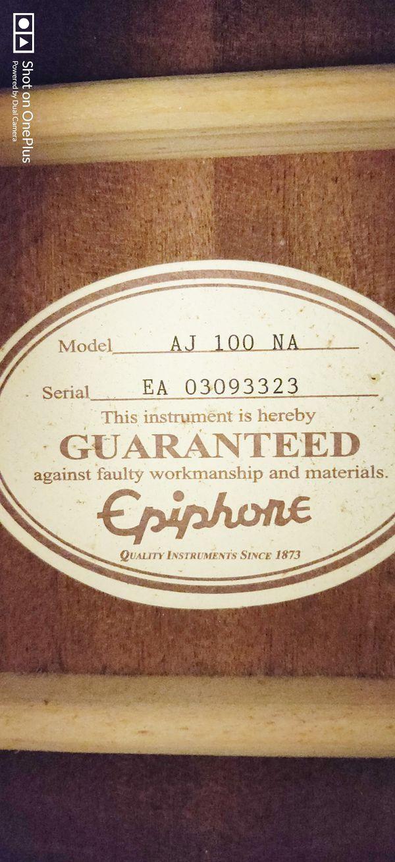 Epiphone AJ-100-NA