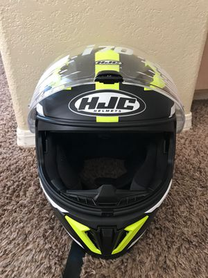 HJC I 70 Motorcycle helmet size L for Sale in Reedley, CA