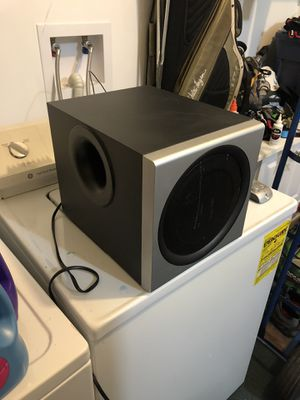 Logitech Subwoofer with control pad for Sale in Arlington, VA