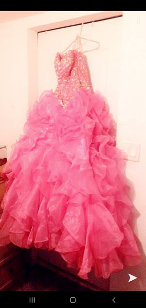 Size 4 quinceanera dress designed by Fiesta Gowns for Sale in Zephyrhills, FL