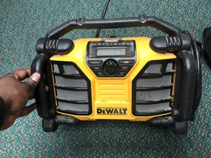 Radio Am FM , Tools-Power Dewalt W / Bluetooth.. Negotiable for Sale in Baltimore, MD