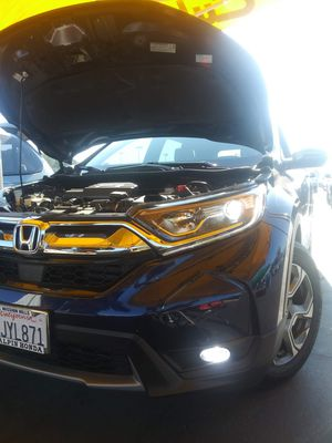 CSP Car LED lights kit MODEL H8 H9 with 1 year WARRANTY. Easy plug and play Car CSP LED headlights set for Sale in West Covina, CA