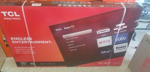 "TCL 55"" Smart TV with ROKU NEW in unopened box for Sale in Corona, CA"
