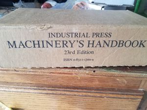 Machinery's Handbook 23rd for Sale in Thomaston, CT