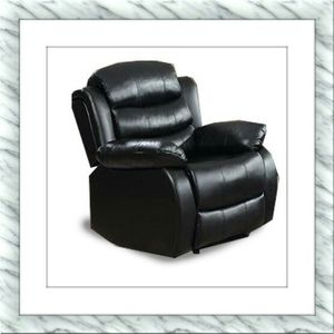 Black recliner chair free delivery for Sale in Rockville, MD