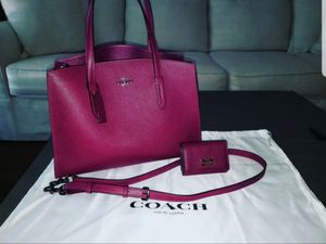 Coach purse with matching wallet for Sale in Fort Worth, TX