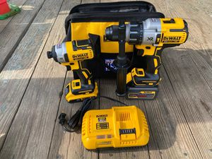 Dewalt XR brushless hammer drill and impact driver 20 V for Sale in Durham, NC