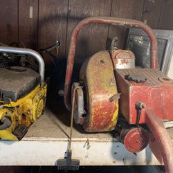 Several Vintage Chainsaws And A Kohl er Motor for Sale in Fairmont,  WV