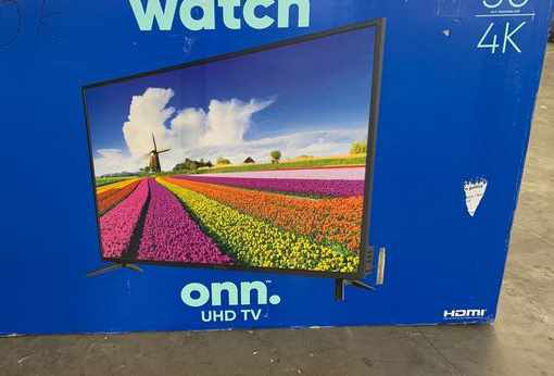 "New ONN UHD TV! 50"" inch Open box w/ warranty 44PW"