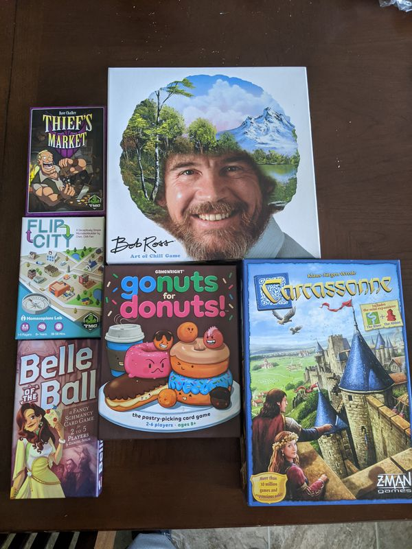Board games. Six games for sale.