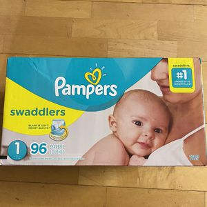 Pampers Size 1 96 Count for Sale in Fresno, CA