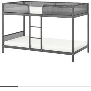 Ikea Twin Bunk Bed With Mattresses for Sale in Tacoma, WA