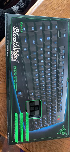Razer black widow ultimate keyboard gaming computer pc for Sale in Cleveland, OH