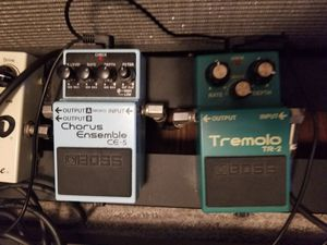 Boss Chorus CE-5 and Boss Tremolo TR-2 for Sale in Canonsburg, PA