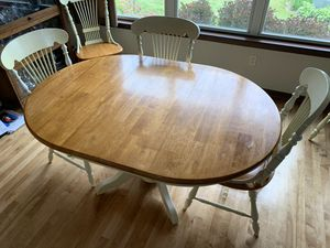 Dining table & seven chairs for Sale in Oconomowoc, WI