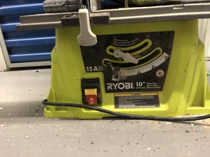 Ryobi Table Saw for Sale in Alexandria, VA