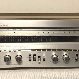 Technics SA 818 Monster Receiver. 110 WPC. Beautiful Condition for Sale in Fullerton, CA