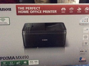 Brand new printer in a box: it has Print, Fax, Scan and Copy Also an office chair pretty confortable in a good condition!😎😎 for Sale in Sacramento, CA