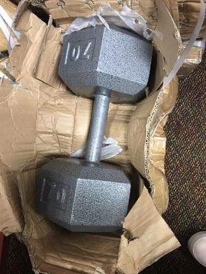 70 Pound Dumbbells for Sale in Plainfield, IL