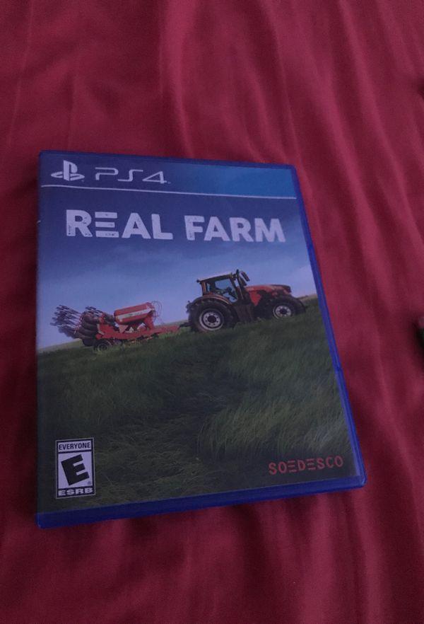 PS4 farming game