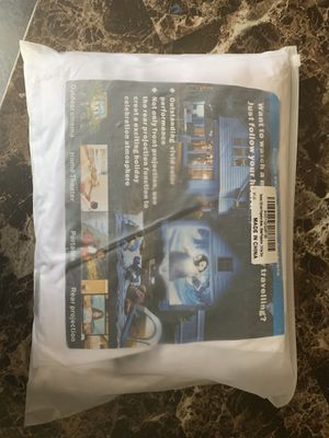 Projector screen 120 inch for Sale in Elk Grove, CA