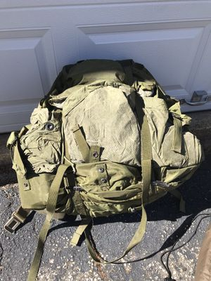Army equipment. Duffel bags, uniform, sleeping bag, and more. for Sale in Webster, MA