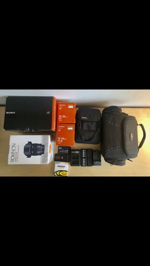 Sony A7r with extras for Sale in Portland, OR