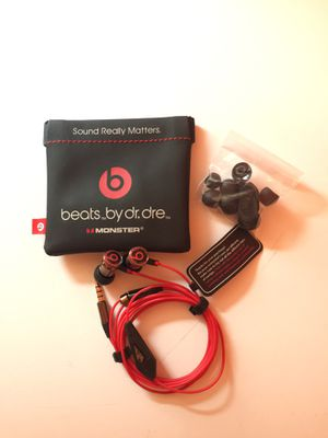 Dr Dre IBeats Monster Headphones • Black • New for Sale in Queens, NY