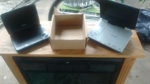 Portable DVD players 25 for both for Sale in San Antonio, TX