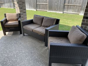Hampton bay 3pc outdoor furniture. $400obo. for Sale in Cypress, TX