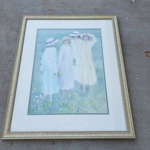 "Hélène Léveillée ""Summer Ladies"" Framed Print Picture for Sale in Chandler, AZ"