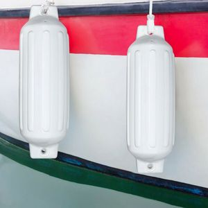 "White 27"" Boat Fenders Hand Inflatable Marine Bumper for Sale in Pomona, CA"
