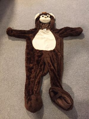 Child's monkey costume (18-24 month) for Sale in Fairfax, VA