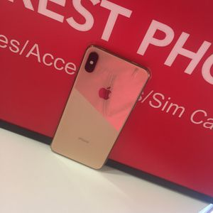 iPhone X 64gb AT&T And Cricket Excellent Condition for Sale in Raleigh, NC