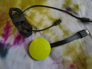 Chromecast 2nd Gen - Specs Google Chromecast 2nd Generation is a media streaming device able to handle up to 1080p Full HD video with surround sound for Sale in Longview, WA
