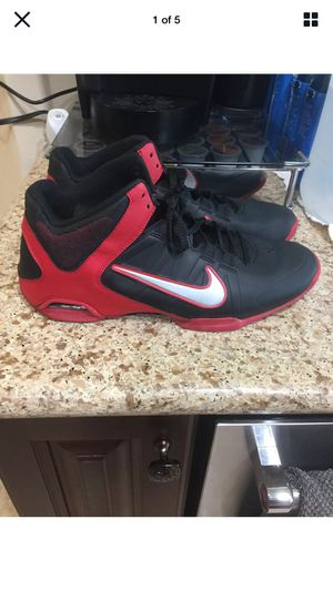 Nike Men's Size 12 Air Visi Pro IV 4 Red Black Basketball Shoes (Porter Ranch) for Sale in Los Angeles, CA