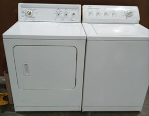 WASHER AND DRYER. HEAVY DUTY for Sale in Garden Grove, CA