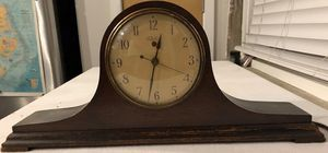Antique 1930's Mantle Shelf Telechron Wood Electric Clock - Nice! for Sale in Wilmington, NC